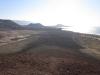 Der Weg zum Hafen von Caleta del Sebo